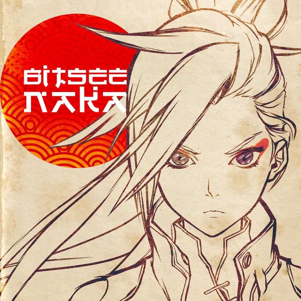 Bitsee Naka is the poster girl for ChainGuardians: a stunning blonde with a Japanese-American heritage. This uncoloured version of Bitsee was part of the original concept drawings. Designed and created by Noi Sackda.