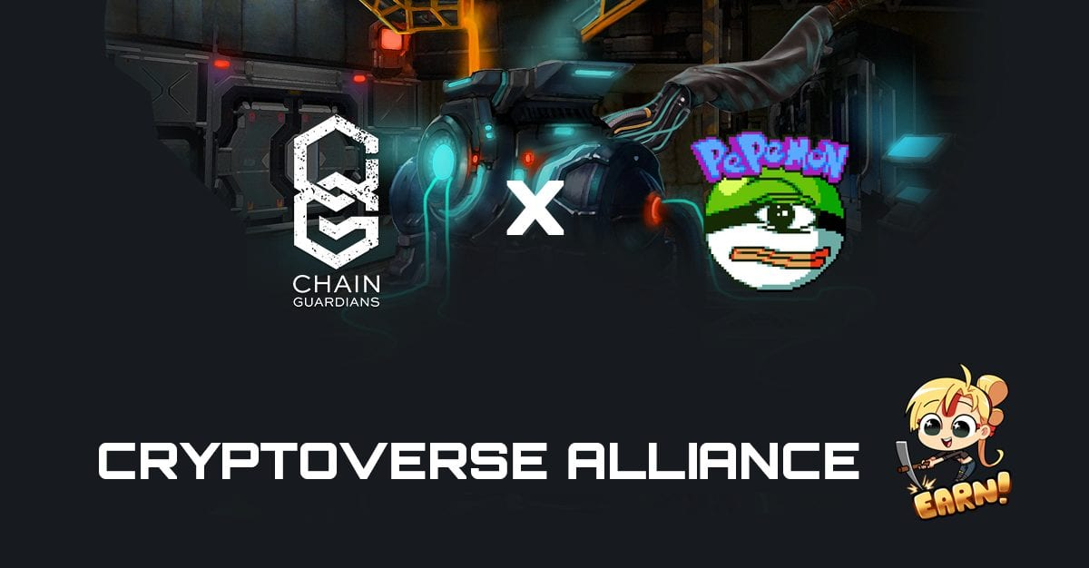 ChainGuardians To Integrate Pepemon Assets In Their NFT Mining Game! | ChainGuardians