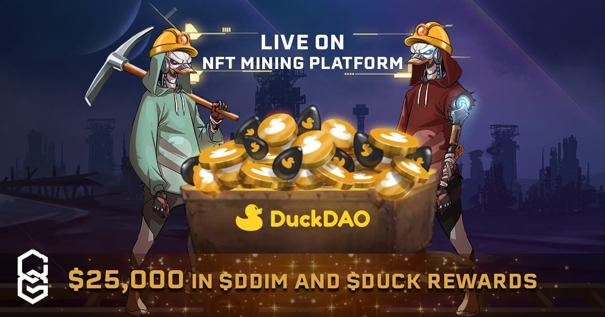 DuckDAO NFTs Live In ChainGuardians NFT Mining